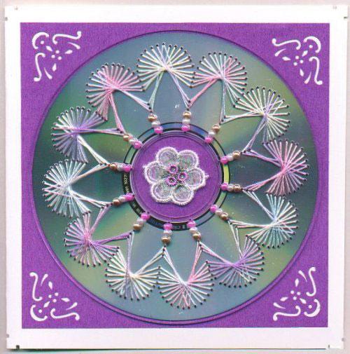Нитяная графика (изонить (изображение нитью), ниточный дизайн) — графическое изображение, выполненное нитками на любом твёрдом основании