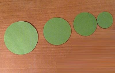 Поделки из кружка бумаги