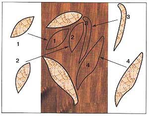 Орнамент для мозаики кракле