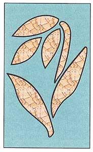 Оонамент для мозаики кракле