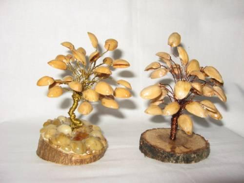Своими руками дерево из фисташек