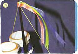 Пароход из пенопласта