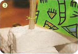 Катамаран из пенопласта