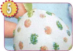 Декорируем яйца