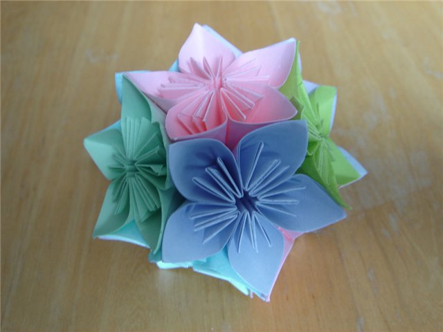 Кусудам оригами