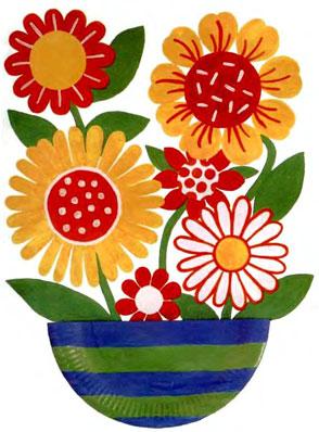Подарок вазы с цветами