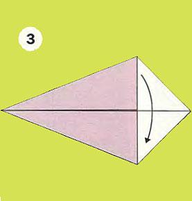 Оригами утки мандаринки