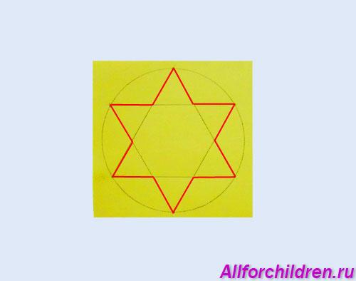 Шестилучевая звезда