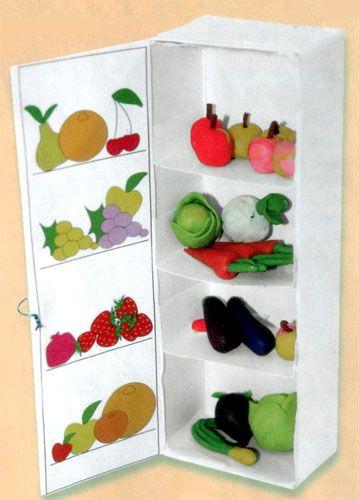 Холодильник из бумаги поделка 23