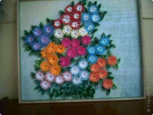 Цветочная фантазия поделки из бумаги 26