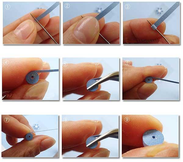 Как сделать из бумаги квиллинг