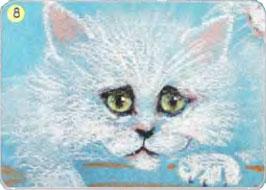 Рисуем белого кота