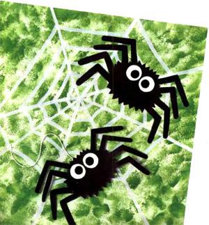 картинки пауки для детей