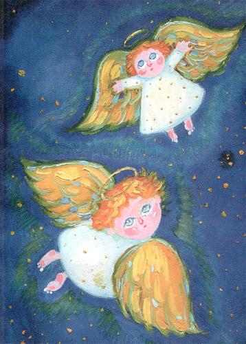 Рисуем ангелов