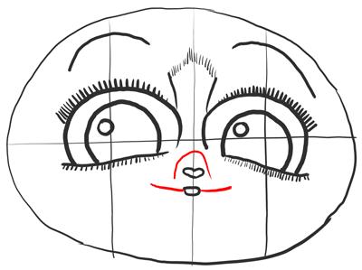 Рисуем ротик Морта