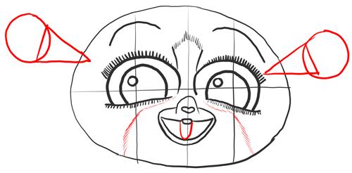 Рисуем уши Морта