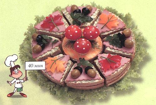 Бутербоды - Осенний торт