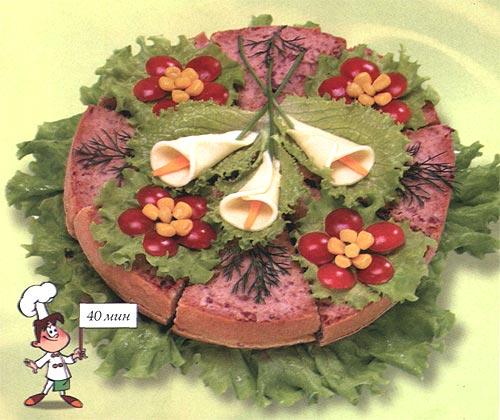 Бутербоды - Праздничный букет