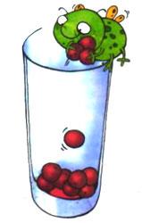 Приготовление коктейля из вишни. Шаг 1