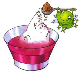 Приготовление коктейля из слив. Шаг 1