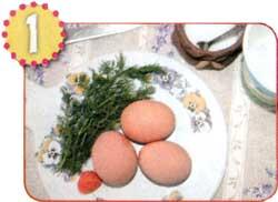 Цыплята в яйцах