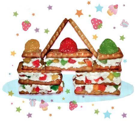 Дворец из печенья