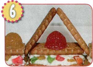 Сладкий дворец из печенья