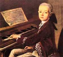 Вольфганг Амадей Моцарт Великие композиторы Музыкальная одаренность Вольфганга действительно была чудом Но во всем остальном он оставался обычным ребенком веселым шалуном приветливым