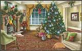 Интерактивная флеш-открытка - Канун Рождества