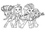 сказочный патруль раскраски для детей персонажи