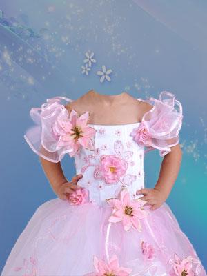 Платья шаблоны для девочек для фотошопа