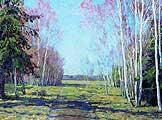 Бакшеев Василий Николаевич (1862-1958). В начале весны. 1917