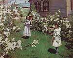 Борисов-Мусатов Виктор Эльпидифирович (1870-1905). Майские цветы [1894]