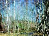 Василий Николаевич Бакшеев. Голубая весна (1930)