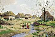 Васильковский Сергей Иванович (1854-1917). Весенний день на Украине