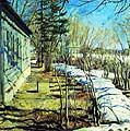 Виноградов Сергей Арсеньевич (1870-1938). Весна идет. 1911