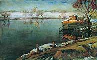 Жуковский Станислав Юлианович (1875-1944). Первые предвестники весны