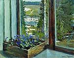 Жуковский Станислав Юлианович (1875-1944) Пробуждение природы (Ранняя весна). 1898