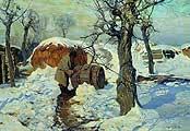Колесников Степан Федорович. (1879-1955). Весна. Март. 1914