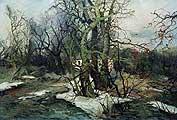 Колесников Степан Федорович. Весна в Малороссии. 1914-1916