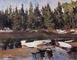 Константин Коровин. Весна. 1915
