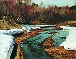 Левитан Исаак Ильич (1860-1900). Весна. Большая вода. 1897