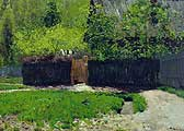 Левитан Исаак Ильич (1860-1900). Весна. Последний снег. 1895