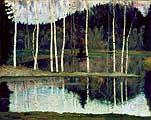 Нестеров Михаил Васильевич. Начало весны (Ранняя весна). 1905