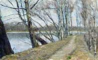 Остроухов Илья Семенович (1858-1929). Ранняя весна. 1891