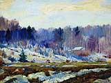 Остроухов Илья Семенович (1858-1929). Ранняя весна. 1910