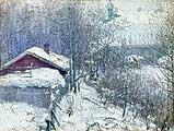 Фешин Николай иванович (1881-1955). Ранняя весна