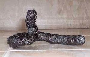 Как сделать пенную змею в домашних условиях