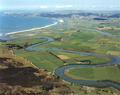 Река Клута в Новой Зеландии