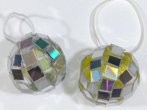 Зеркальный шарик
